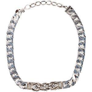 Gucci Tiger Head Necklace